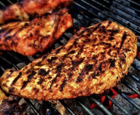 Gegrild vlees